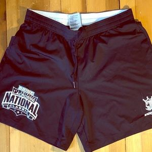 """SOLD""""End of the Summer Sale"""" Navy Blue Gym Shorts"""